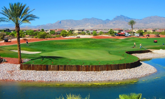 Par 4 Golf Management - Multiple Locations: Rounds of Golf from Par 4 Golf Management at Badlands, Wildhorse, Primm Valley & More (Up to 63% Off). Three Options.