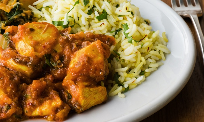 Khana Peena Indian Cuisine - Khana Peena- College: North Indian Cuisine for Dinner at Khana Peena Indian Cuisine (50% Off). Two Options Available.