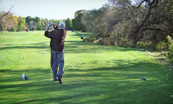 Borden Golf Club - Circled Pine: $49 for an 18-Hole Round of Golf for Two at Circled Pine Golf Course at Borden Golf Club (Up to $100 Value)