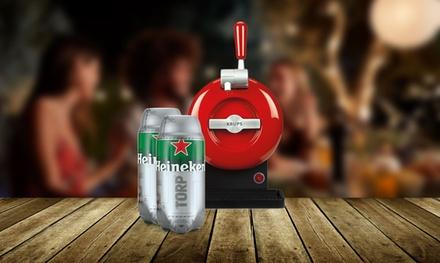 THE SUB Rouge Edition y 2 HEINEKEN Torps de 2 litros cada uno por 64 €