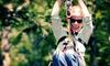 Zoar Outdoor - Zoar Outdoor - Charlemont: $119 for a Zipline Canopy Tour for Two from Zoar Outdoor ($188 Value)