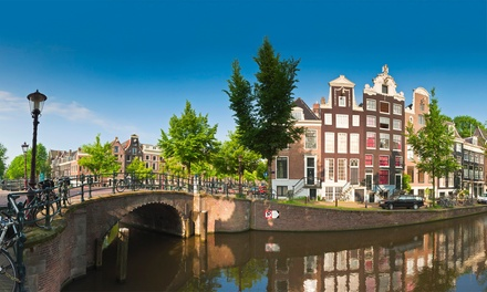 ✈ Amsterdam: Up to 4 Nights at Choice of 4* Hotels with Return Flights*