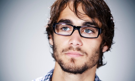 84% Off Eye Exam and Glasses Credit
