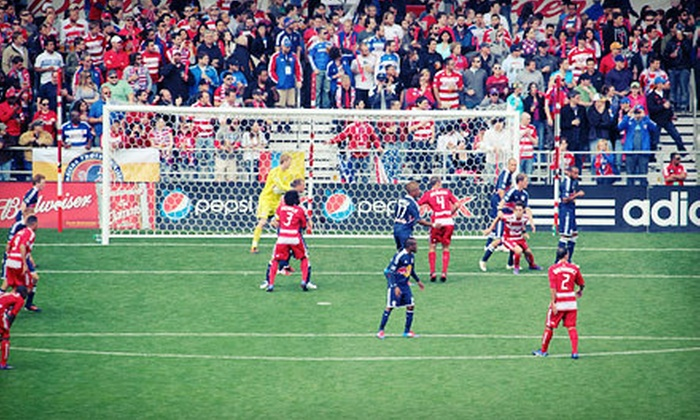 FC Dallas - Toyota Stadium: FC Dallas MLS Game Package with On-Field Experience on March 2nd or 17th at FC Dallas Stadium (Up to 58% Off)