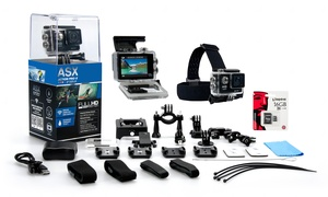 ActionPro-X HD 1080p WiFi Sports Camera Bundle at ActionPro-X HD 1080p WiFi Sports Camera Bundle, plus 6.0% Cash Back from Ebates.