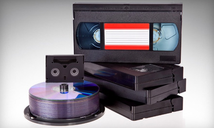 KMS Media Services - Smyrna: 2, 5, or 10 Videotape-to-DVD Conversions at KMS Media Services in Smyrna (Up to 67% Off)
