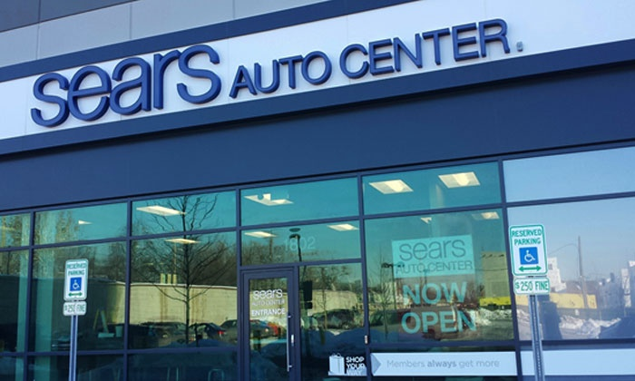 Tire Services Sears Auto Center Groupon