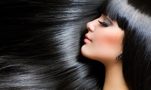 KIM&Co. Salon: Brazilian Blowout, One or Three Regular Blowouts with Conditioning, or Haircut at KIM&Co. Salon (Up to 54% Off)