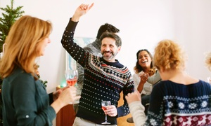 Awesome Random Adventures: Ugly Sweater Bar Crawl for Two or Four from Awesome Random Adventures (Up to 52% Off)