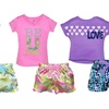 Star Ride Girls' 2-Piece Pajama Set
