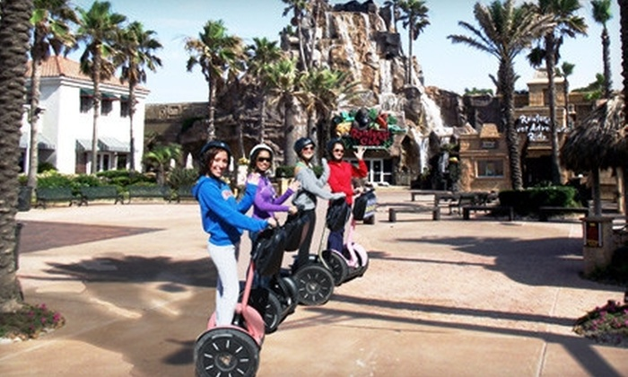 SegCity Galveston - Fort Crockett: Galveston Rat Pack or Seawall Cruise Segway Tour for One, Two, or Four from SegCity Galveston (Up to 54% Off)