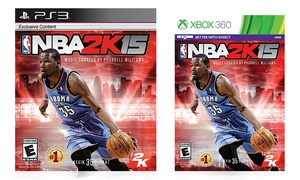 NBA 2K15 for PlayStation 3 or Xbox 360
