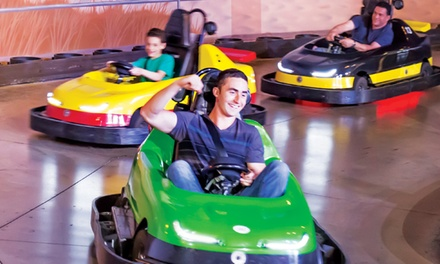 Two or Four Game Cards, or Two After Dark Unlimited Ride Passes and Game Cards at iPlay America (56% Off)