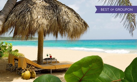 All-Inclusive Stay for Two at Sivory Punta Cana Boutique Hotel in Dominican Republic. Includes Taxes and Fees.