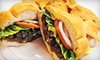 Tortacos - Gaithersburg: $15 for Five Burritos or Tortas at Tortacos (Up to $32.50 Value)