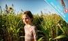 Fleitz Pumpkin Farm - Oregon: Four Corn-Maze Trips and Hay Rides or Six Corn-Maze Trips at Fleitz Pumpkin Farm (Up to 58% Off)