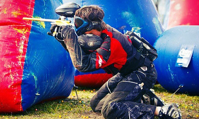 Outlaw Paintball - Pflugerville: Paintball Outing for Two or Four with Gear, Air, and Paintballs at Outlaw Paintball in Pflugerville (Up to 51% Off)