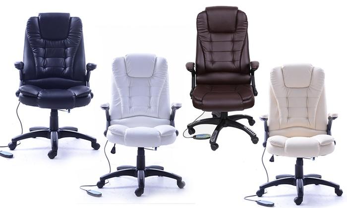 Poltrona Ufficio Massaggio.Poltrona Massaggiante Da Ufficio Groupon Goods