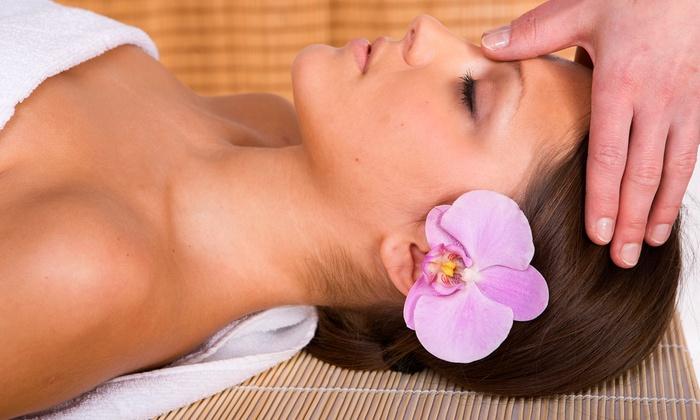 Pure Radiance Spa Salon & Tanning - Woodward Park: Swedish Aromatherapy Massage and Pumpkin Parfait Facial at Pure Radiance Spa Salon & Tanning