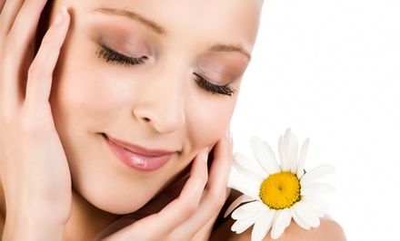 Rejuvenating or Tightening Skin Treatment, or Both Treatments, with 30-Minute Facial and Yoga Class (85% Off)