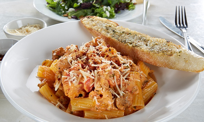 Palomino Restaurant & Bar - Westwood: Upscale Mediterranean Cuisine at Palomino Restaurant & Bar (Up to 40% Off). Two Options Available.