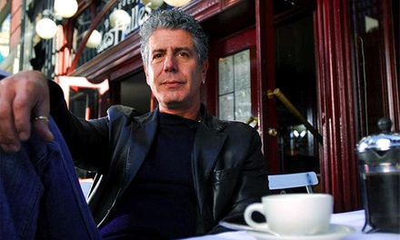 Anthony Bourdain: Close to the Bone at Andrew Jackson Hall on July 7 at 7:30 p.m. (Up to 25% Off)