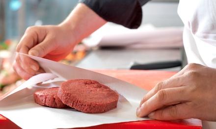Pack de 12 o 24 hamburguesas de cerdo, cerdo ibérico o ternera desde 4,90 € en Carnicería Mercado Central Valencia