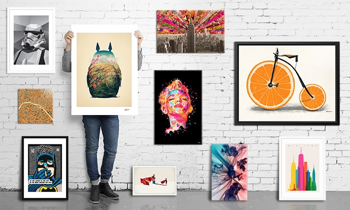 Curioos: Prints and Wall Art from Curioos (Up to 42% Off). Two Options Available.