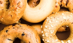 Newtown Bagel Co.: Bagels and Gourmet Spreads at Newtown Bagel Co. (Up to 55% Off). Two Options Available.
