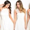 Winter White Women's Cocktail Dresses