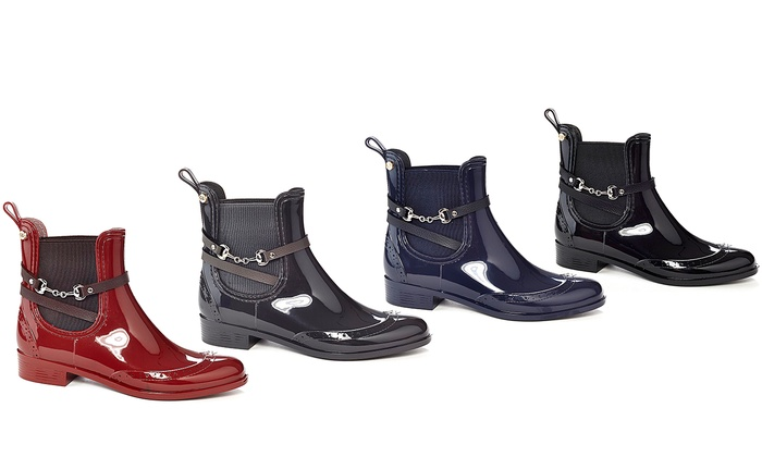 Ankle Rain Boots For Women - Cr Boot