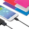 iHome ColorCharge Slim 3,000mAh Portable Backup Battery