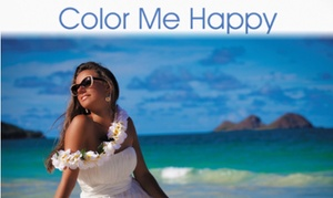 Sun Haven Red Light & Tanning Theraspa: Up to 50% Off level 1 or custom spray tans at Sun Haven Red Light & Tanning Theraspa
