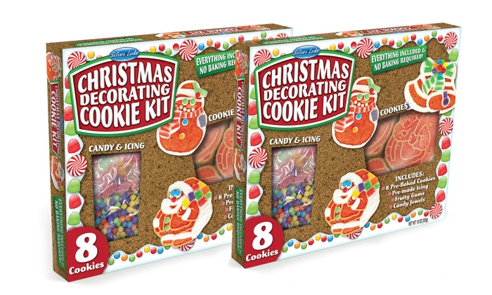 christmas cookie decorating kit 2 pack