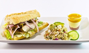 Pastry is Art: Lunch or Pastries from Pastry is Art (Up to 48% Off). Three Options Available.