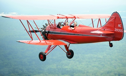 20- or 30-Minute Waco Flight for One, or 15-Minute Cessna Flight for Two from Red Baron Air Tours (Up to 52% Off)