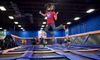 Sky Zone: $15 for One Hour of Trampoline Time and SkySocks for Two at Sky Zone ($28 Value), Valid for Walk-Ins