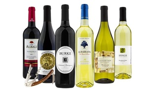 $35 For Delivery Of 6 Bottles Of Wine With Wine Club Access From Barclays Wine ($179.94 Value)