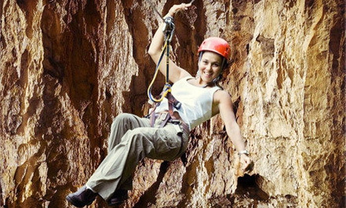 Louisville Mega Cavern - Poplar Level: $13 for an Underground Tram Tour for Two or Credit Toward a Zipline Tour at Louisville Mega Cavern (Up to $27 Value)