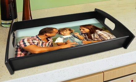 Custom Photo Serving Trays from Picture it on Canvas from $34.99–$39.99.