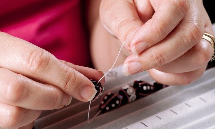 Ornamentea - Central Raleigh: Earring Making Class for 2 or 4, or BYOB Beading Party for Up to 12 at Ornamentea (Up to 57% Off)