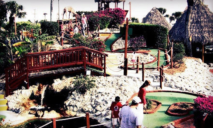 Golf Safari Mini Golf - Bonita Springs: 18-Hole Round of Miniature Golf for Two or Four at Golf Safari Mini Golf (Up to 57% Off)