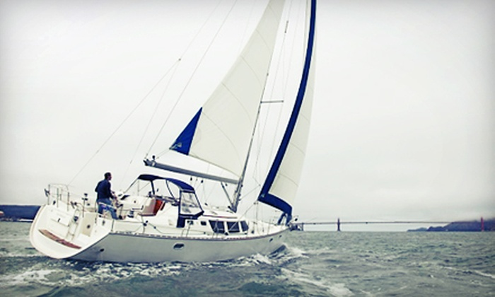 Captain San Francisco - The Embarcadero: Semiprivate and Private Sailing Trips from Captain San Francisco (Up to 51% Off). Four Options Available.