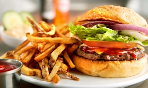 Cafe de la Roche: Any Burger or Pasta with a Smoothie From R119 for Two at Cafe de la Roche (Up to 54% Off)