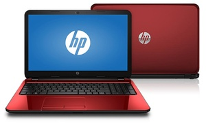 """Hp Flyer 15.6"""" Laptop With 2.16ghz Intel Pentium N3540 Cpu, 4gb Ram, And 500gb Hdd (manufacturer Refurbished)"""