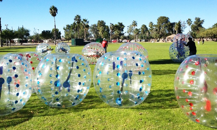 Balls Out! Sports, LLC - Tucson: $75 for Bubble Ball Soccer for a Group of Up to 10 at Balls Out! Sports, LLC ($150 Value)
