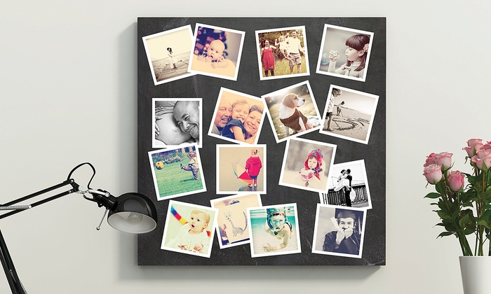 Custom photo wall decals from paper culture