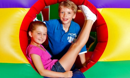 Playtime for Two or Four Kids, or One Month of Unlimited Playtime for One Kid at The Playroom (Up to 50% Off)