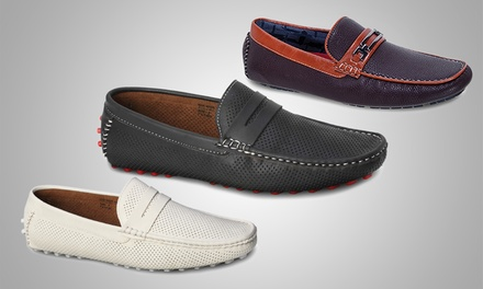 Tony's Casuals Men's Driving Loafers