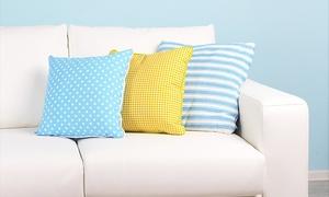Caballero: Servicio a domicilio de limpieza con desinfección de la tapicería de un sofá de 2 o 4 plazas desde 34 €